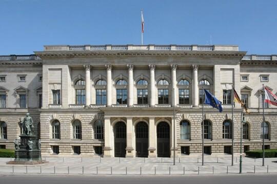 Das Abgeordnetenhaus von Berlin