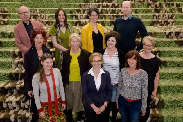 die Mitglieder der familienpoltischen Kommission der Böll-Stiftung
